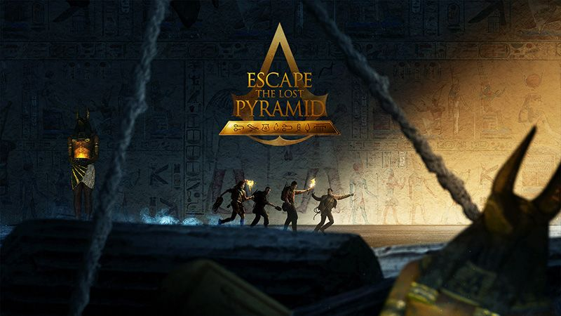 escape the lost pyramid Teambuilding