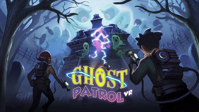 Ghost Patrol VR Key Art 16 9 Ratio 800 Kindergeburtstage